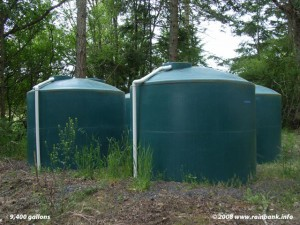 What is the Best Storage Tank for my Rainwater Catchment System