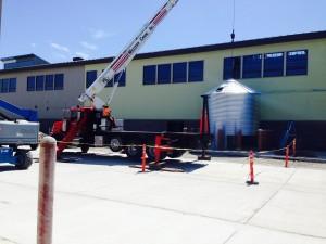 Rainwater Harvesting Tanks for Toilet Flushing