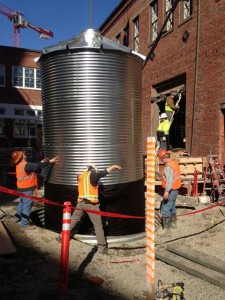 Steel Tanks Harvest Rainwater