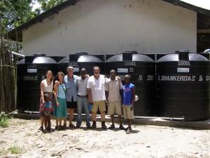 Ken Blair in Sierra Leone, Africa with Bank on Rain