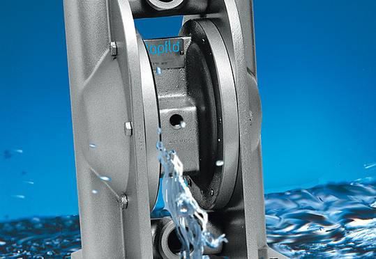 When are Diaphragm Pumps Used in a Rainwater Collection System?