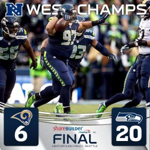 SeaHawks NFC West Champs