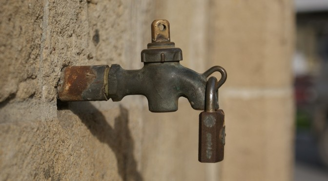 Aging Public Water Systems Money Sits Unspent