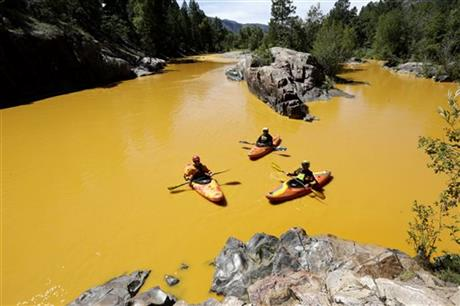 Heavy Metals Spill into Colorado River