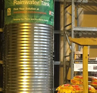 Big Box Stores Embrace Rainwater Harvesting