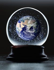snow globe earth