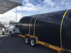 Transporting Water Tank