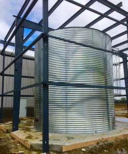 Fire Protection Steel Tank from Contain