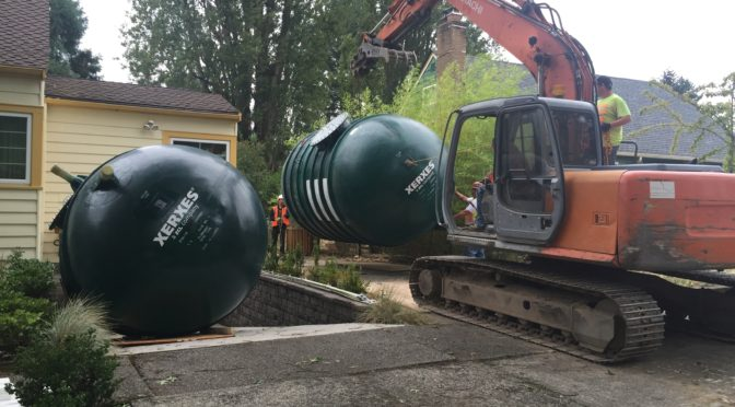 Rainwater Collection From Whatcom to Wahkiakum