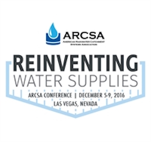 Reinventing Water Supplies – ARCSA Conference 2016