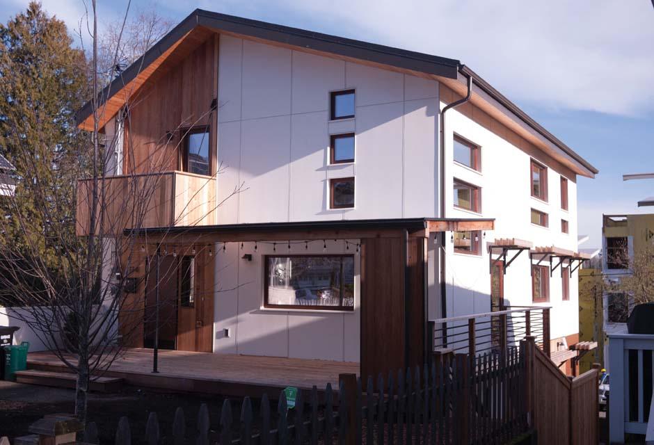 Net-Zero Home Wins With RainBank Design - RainBank